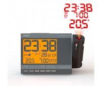 Проекционные часы-будильник meteo projection Q755
